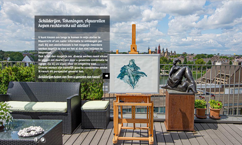 Webdesign voor Ivon Spronck